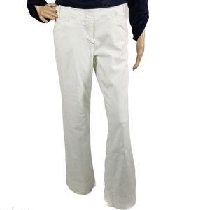 J. Jill Wide Leg  White Jeans